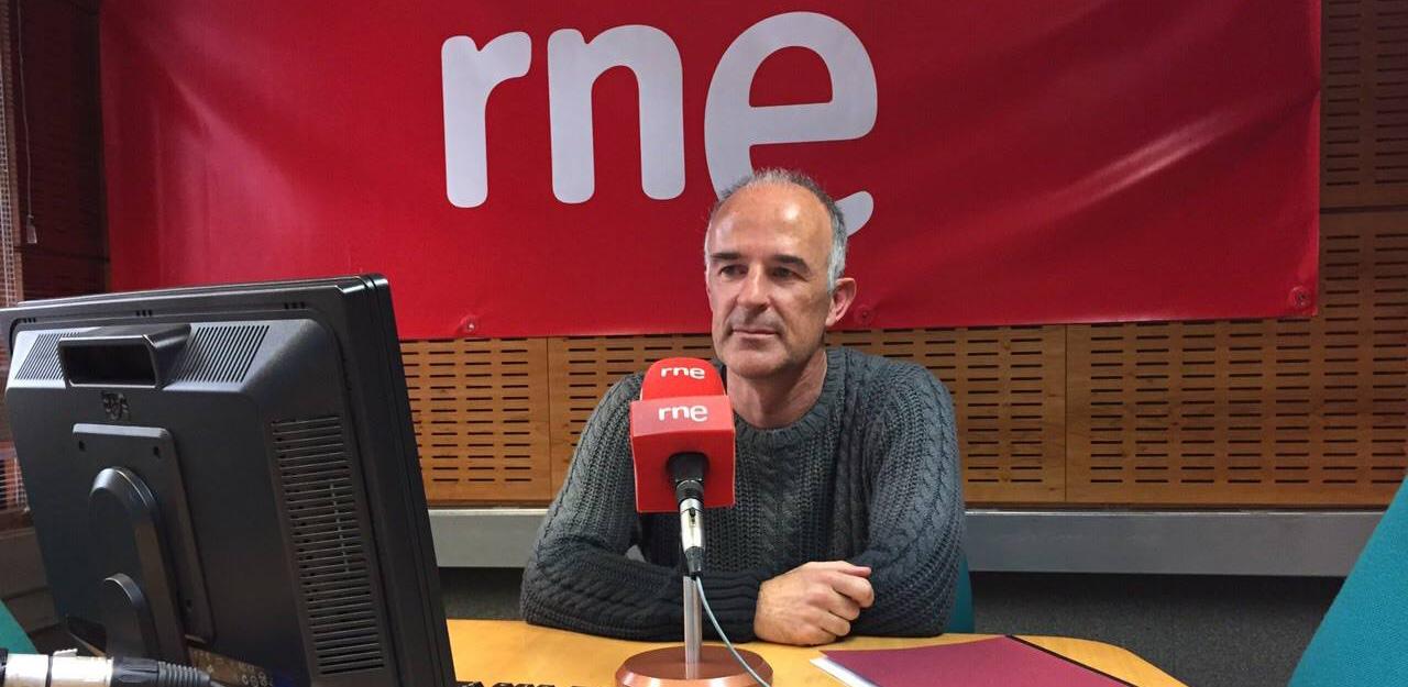 Foto en Radio Nacional de Alicante