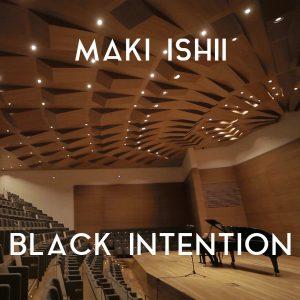 Portada Maki Ishii - Black intention con nombre